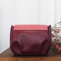 BAG FLORES PIÑATEX ROSE