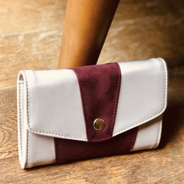 RED CAROLE WALLET