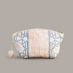 MEDIUM EMBROIDERED DAY POUCH