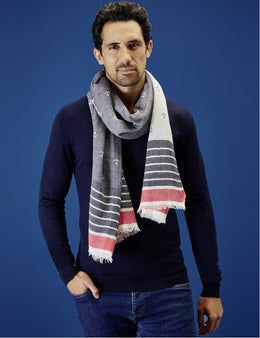 SAUZON CHECK SCARF