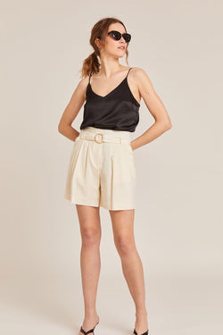 IVORY ROME TAILORED SHORTS