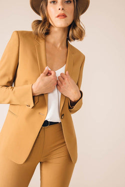 CAMEL PARIS TAILORED JACKET