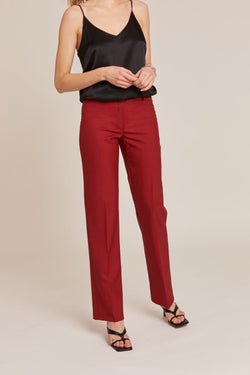 BERLIN COQUELICOT TAILORED TROUSERS
