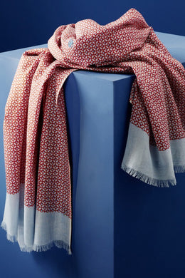 PIHA BEACH CHECK SCARF