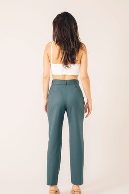 TAILORED PANTS CASABLANCA CEDAR GREEN