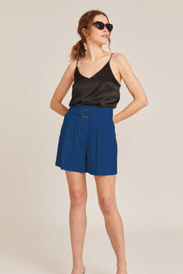 ROME COBALT TAILORED SHORTS