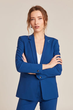 PARIS COBALT TAILORED JACKET