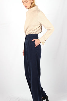 LARGE MORANE PANTS DARK BLUE