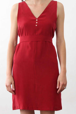 ROBE CORALIE ROUGE