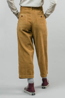 CORDUROY CAMEL TROUSERS