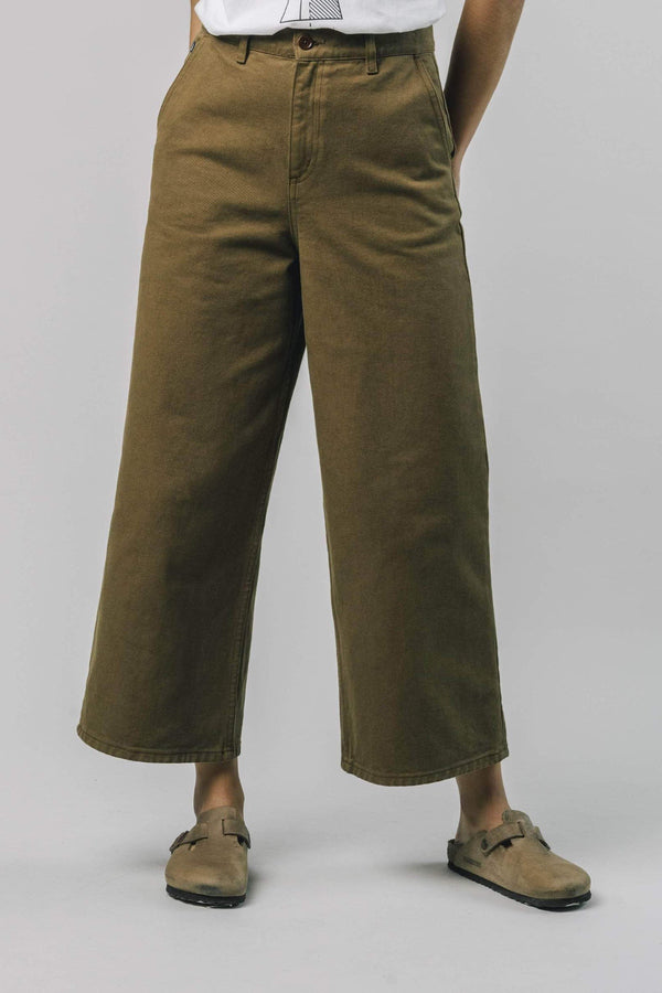 PANTALON LARGE TOFFEE