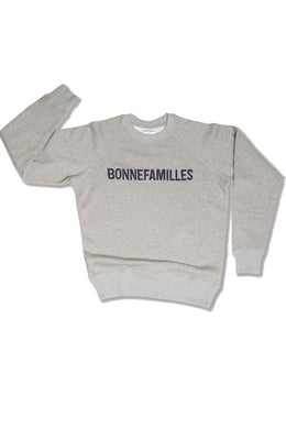 GRAY MARL SWEATSHIRT