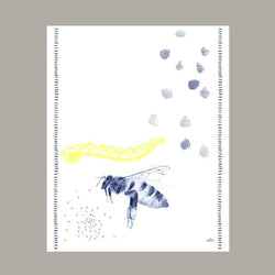 DARLING BEE TEA TOWEL