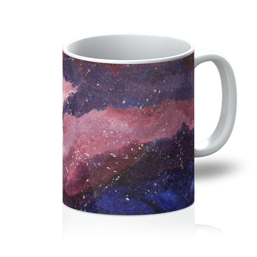 Cosmos in the Pink Sky Mug