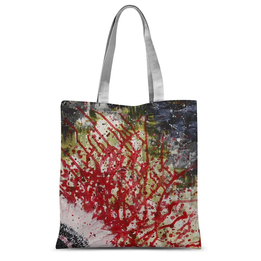 Concealed I Sublimation Tote Bag