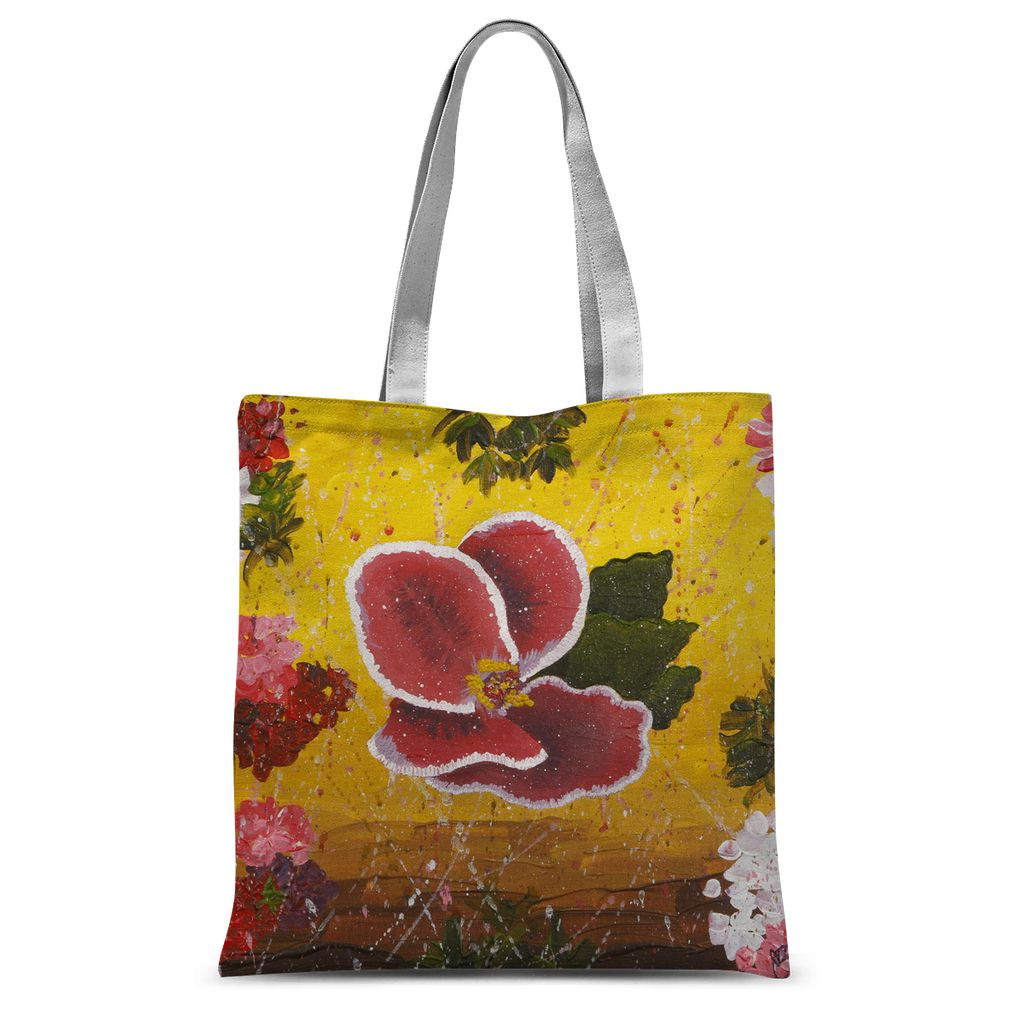 Spanish Angel Sublimation Tote Bag