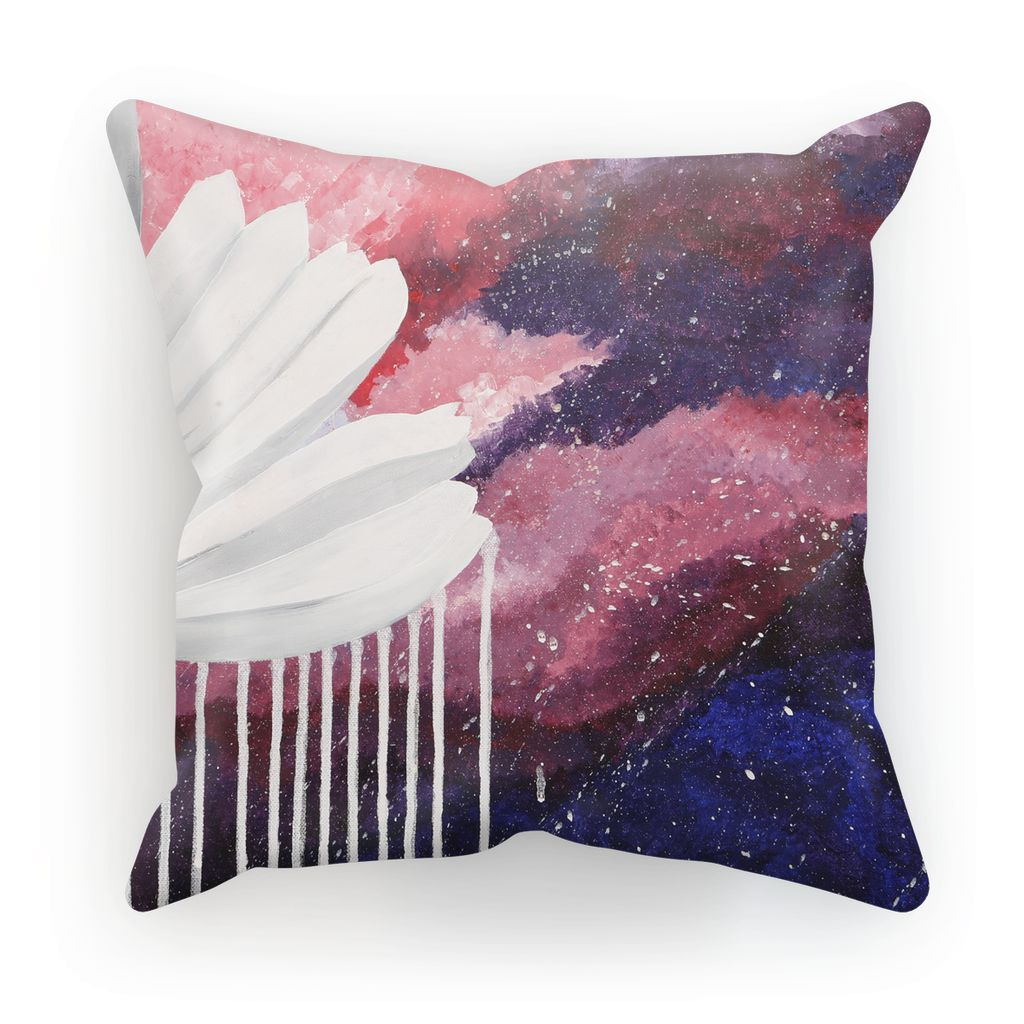 Cosmos in the Pink Sky Cushion