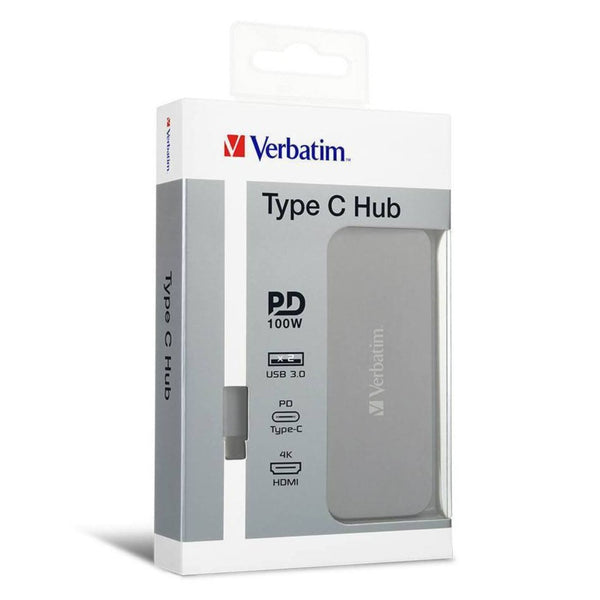 Type C Hub with PD, HDMI, USB 3.0