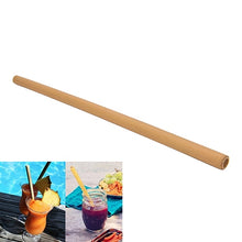 Load image into Gallery viewer, Organic Bamboo Drinking Straw