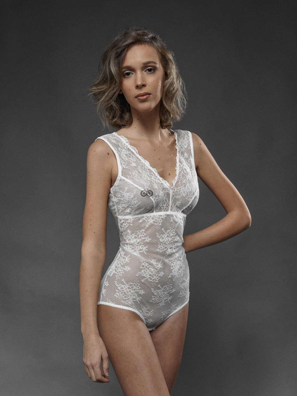 Body Pizzo Bianco - Carami - Caramì Lingerie & Activewear Made in Italy