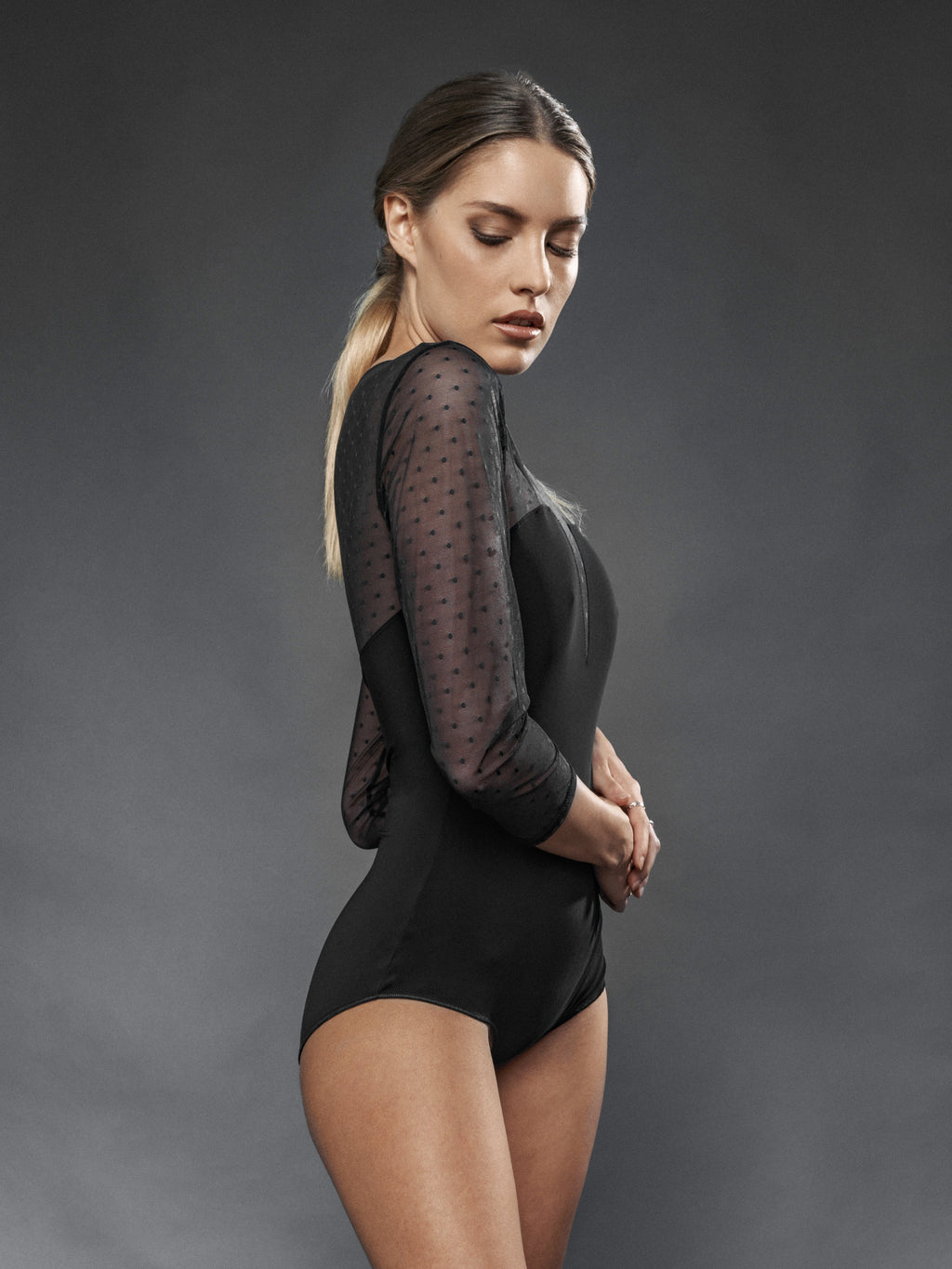 Body Plumetis - Carami - Caramì Lingerie & Activewear Made in Italy