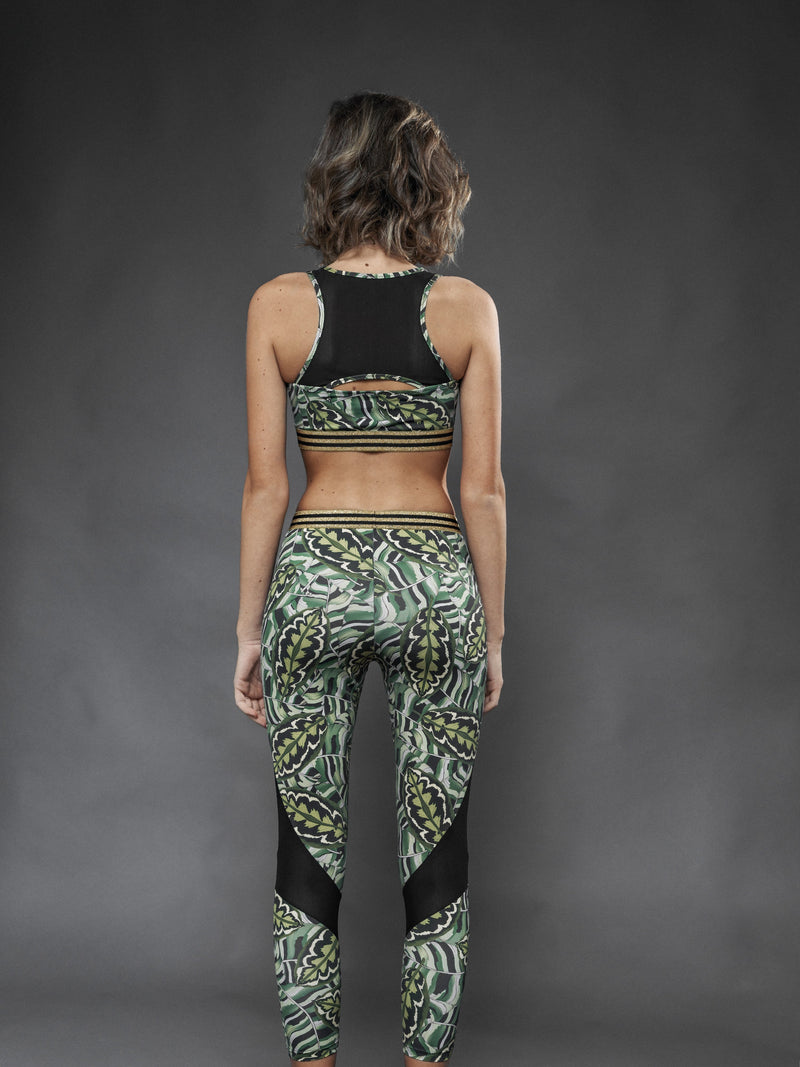 Leggings Sport Jungle - Carami - Caramì Lingerie & Activewear Made in Italy