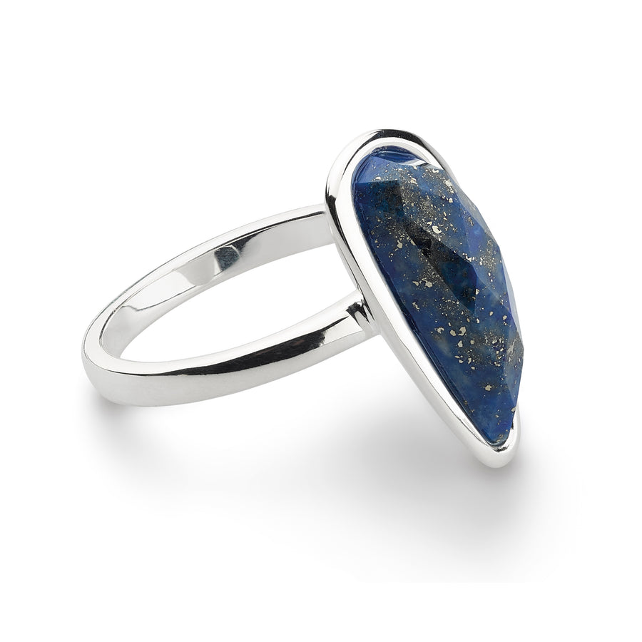 Coast Pebble Stone Long Ring - 1179lp