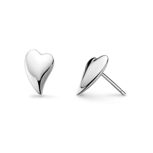Desire Lust Heart Stud Earrings - 40fthp