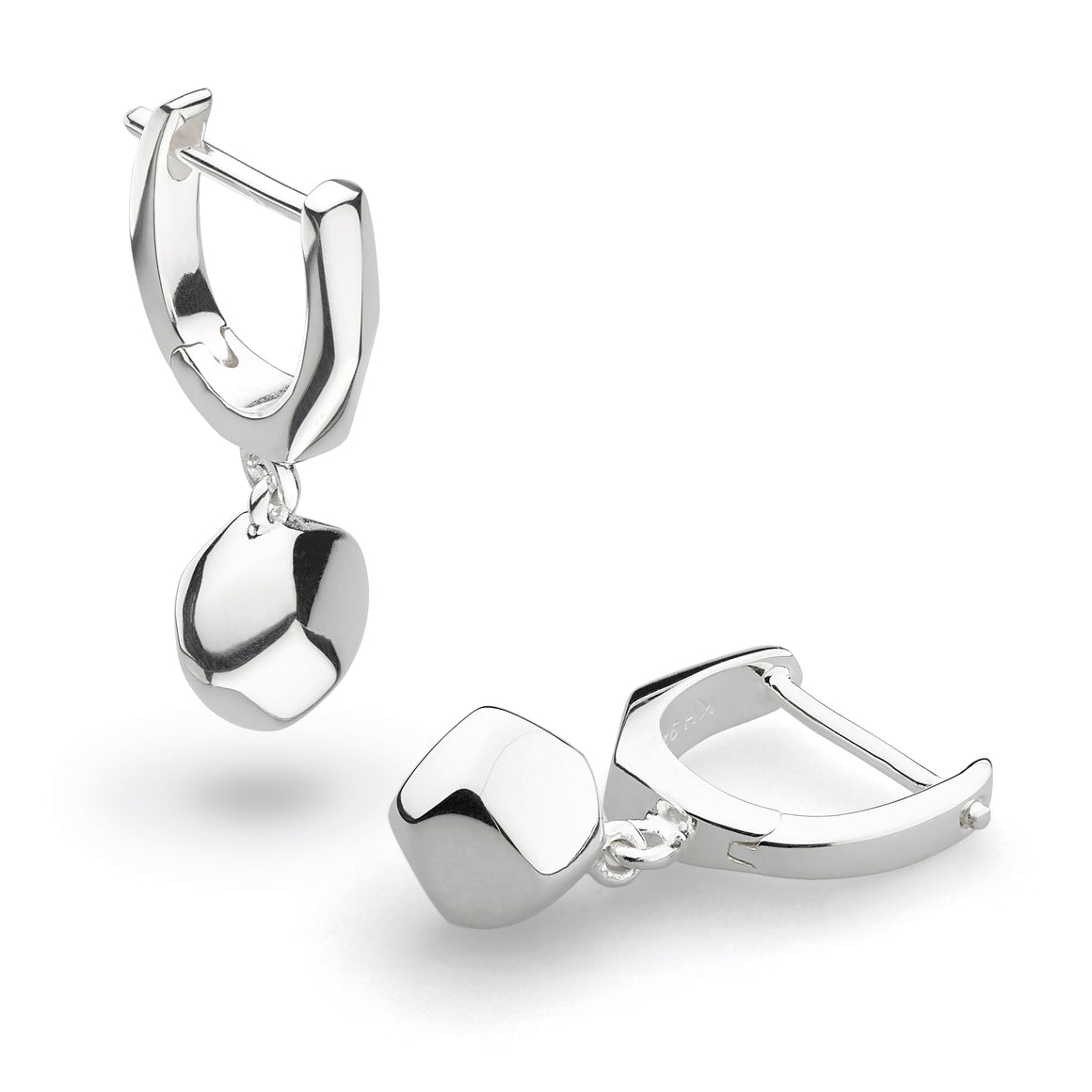 Coast Rokk Hinged Hoop Drop Earrings - 60044hp022