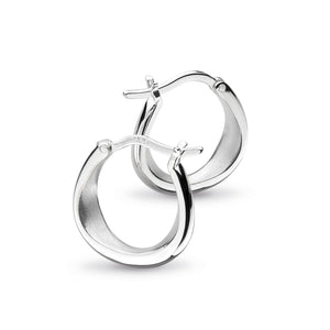 Coast Shore Small Sandblast Hoop Earrings - 60052sb022