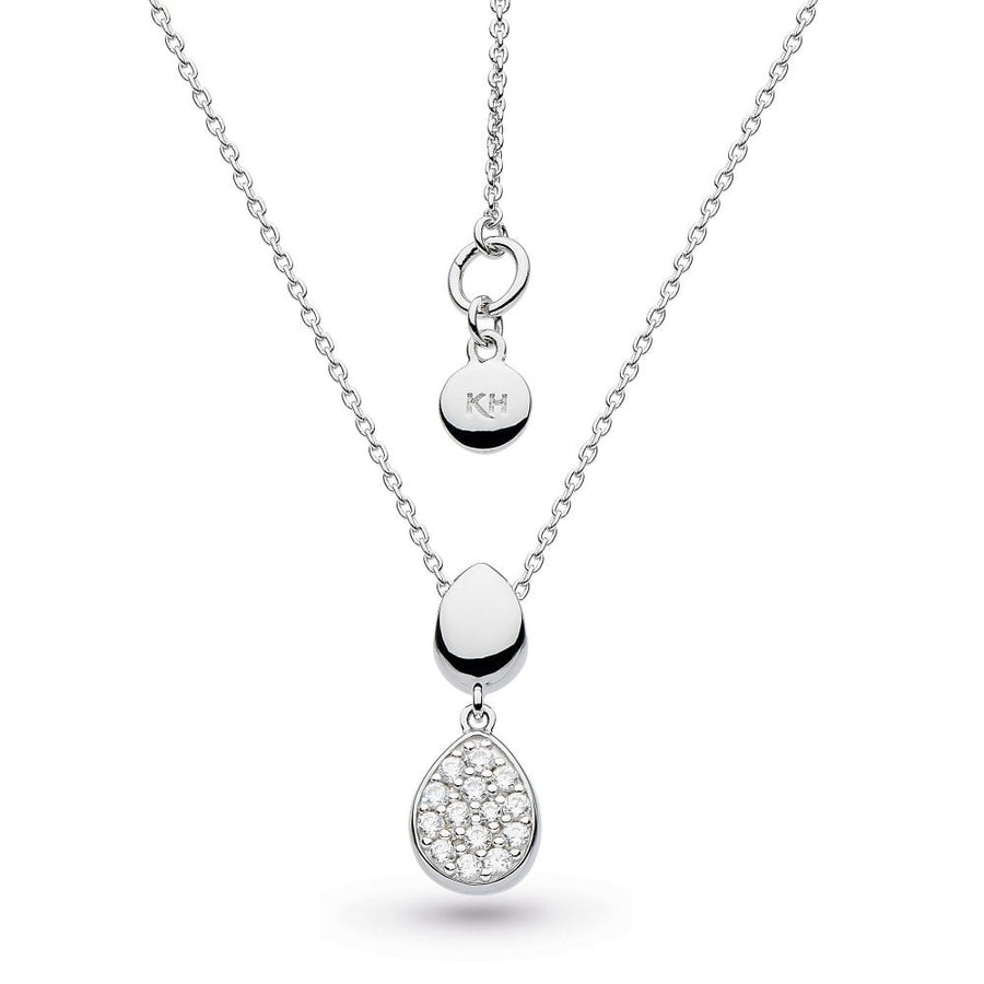 Coast Pebble Glisten Necklace - 90188cz029