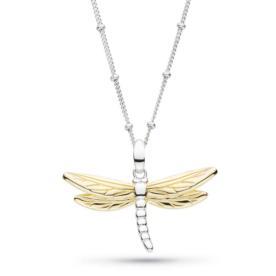 Blossom Flyte Dragonfly Ball Chain Necklace - 90354grp