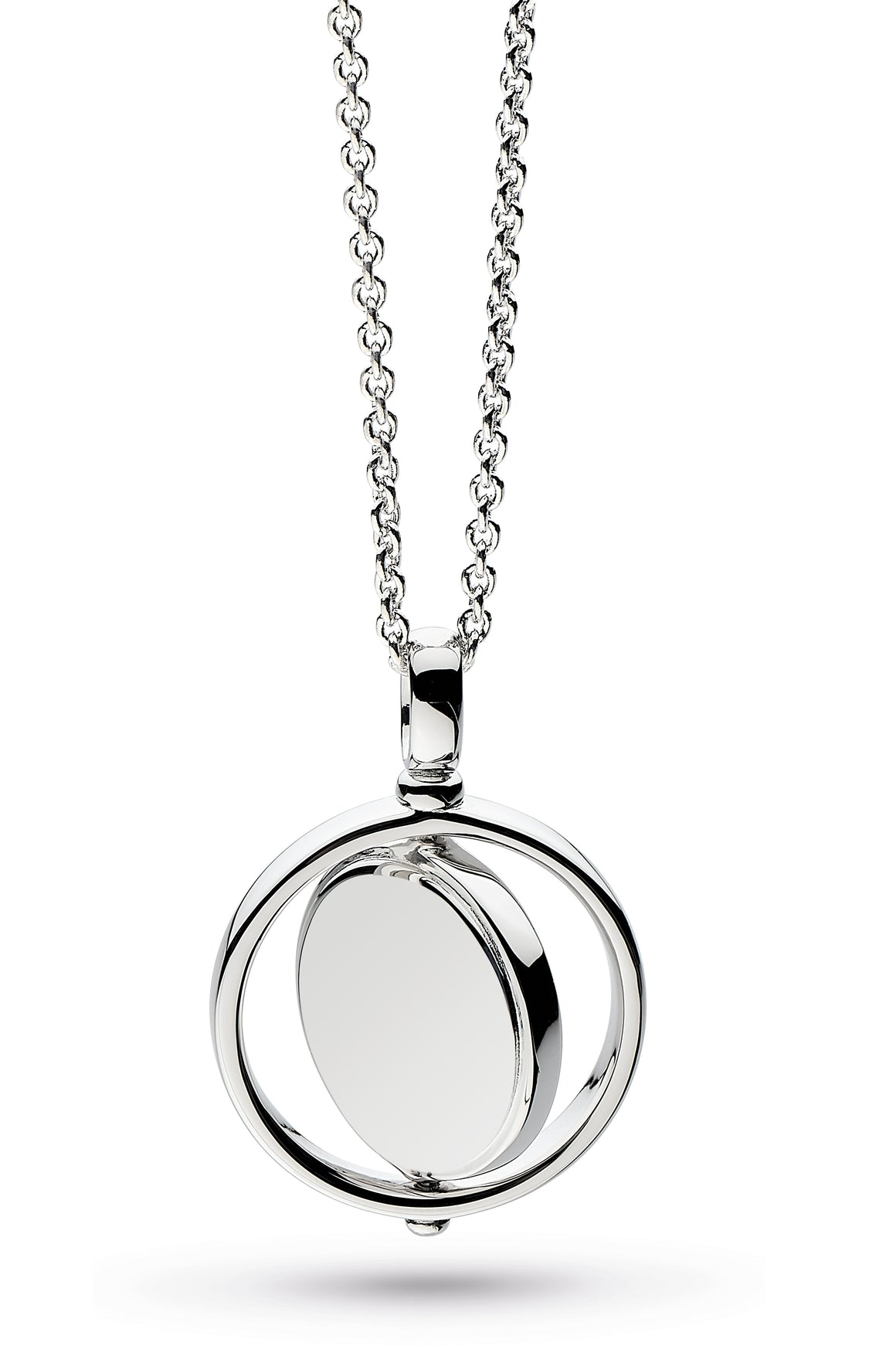 Empire Revival Round Spinner Necklace - 90385rp029