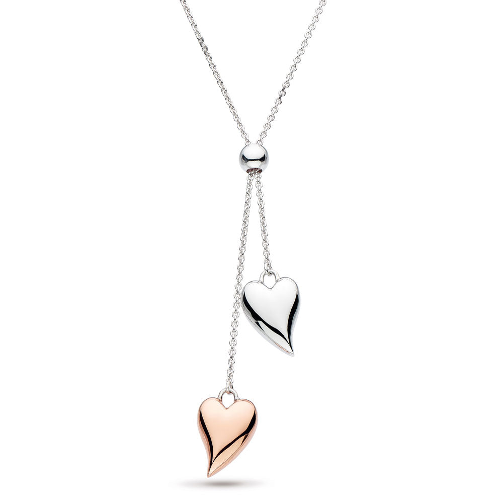 Desire Lust Blush Lariat Heart Necklace - 90504rrp