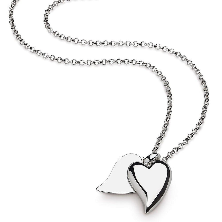 Desire Love Duet Large Heart Necklace - 90508rp