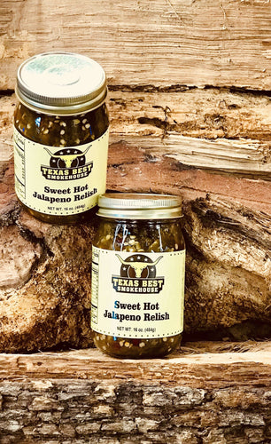 Sweet Hot Jalapeno Relish 16oz