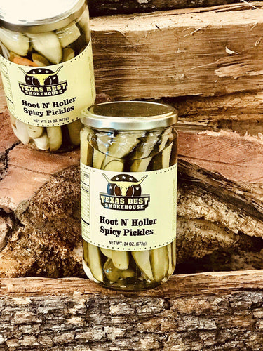 Hoot N' Holler Spicy Pickles 24oz