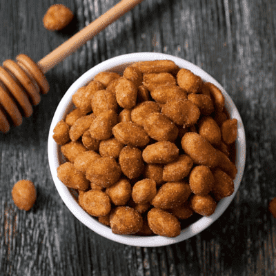 Honey Roasted Peanuts 8oz