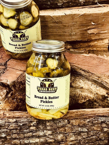 Bread N Butter Pickles 32oz