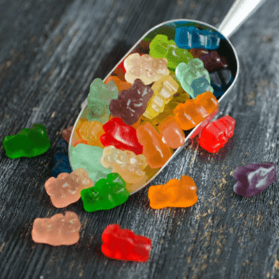 Texas Best Smokehouse -12 Flavor Gummi Bears 8oz
