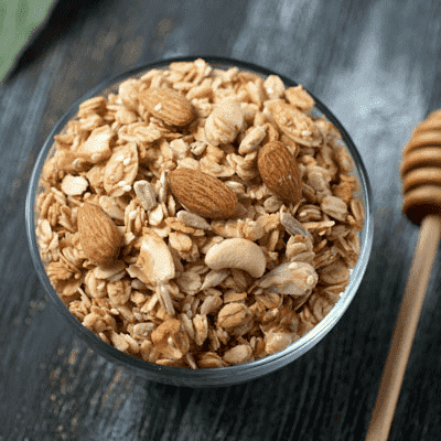 Nutty Honey Granola 8oz