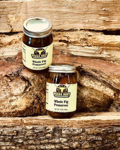 Whole Fig Preserves 16oz
