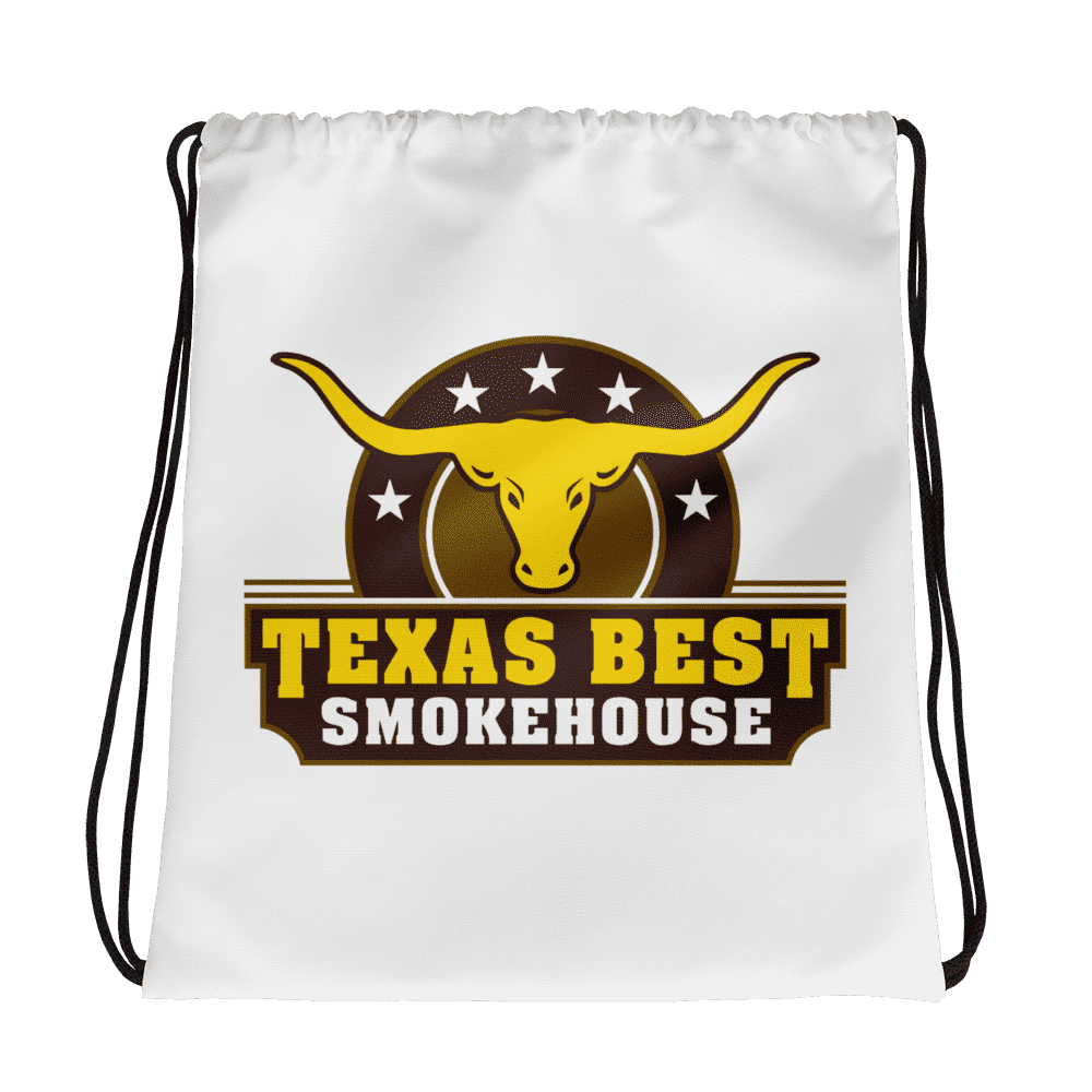 Texas Best Smokehouse Drawstring bag