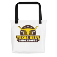 Texas Best Smokehouse Tote bag