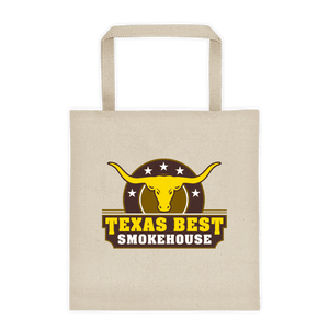 Texas Best Smokehouse Tote Bag v2