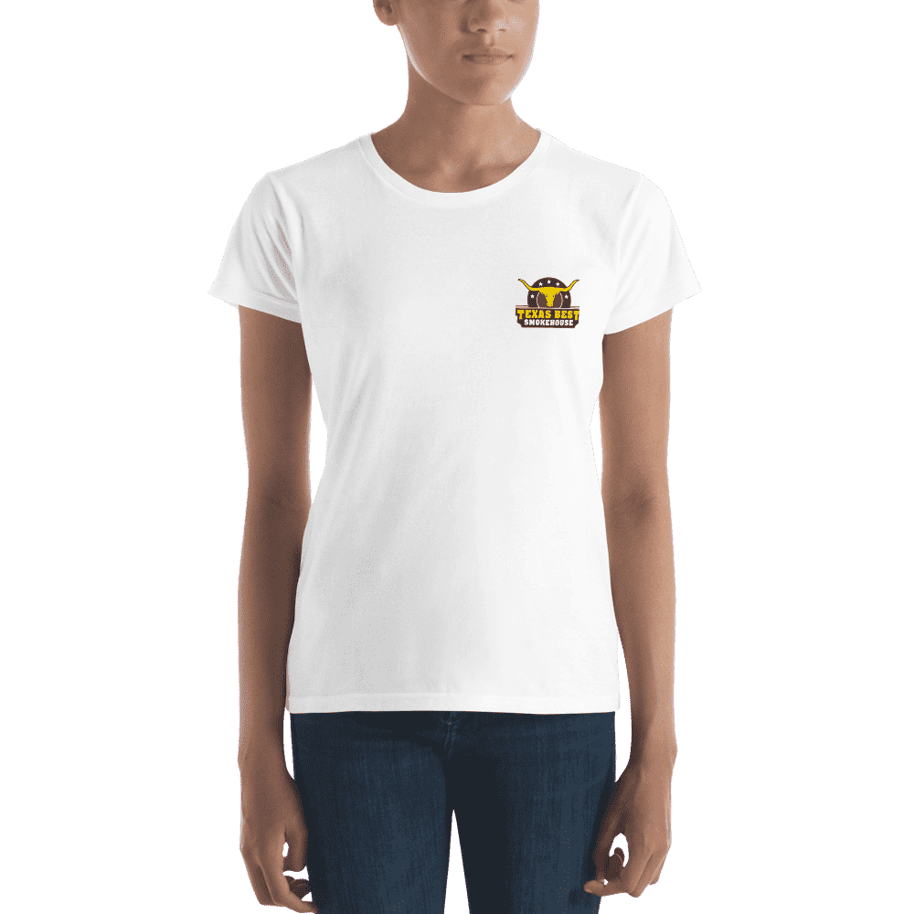 Women's Texas Best Smokehouse short sleeve t-shirt
