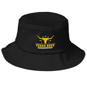 Texas Best Smokehouse Bucket Hat(Old School)