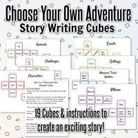 Choose Your Own Adventure Story Cubes