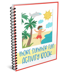 More Summer Fun Kid's Activity Book!
