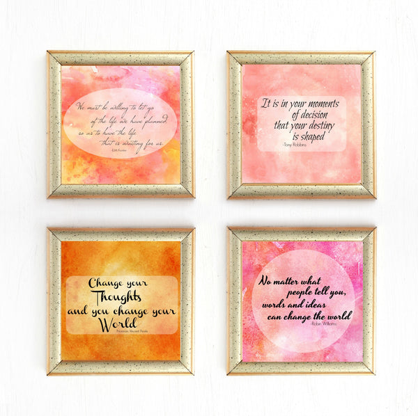 Inspirational Quotes Printable  Wall Art
